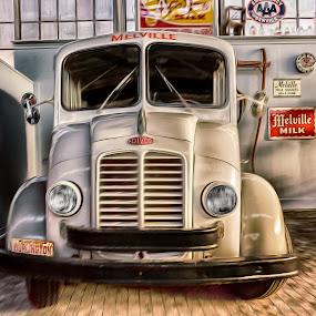 Milville Milk by RomanDA Photography - Transportation Automobiles ( old, truck, milk, classic )