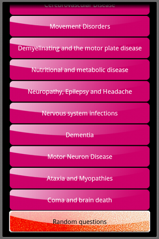 【免費醫療App】Neurology short questions-APP點子