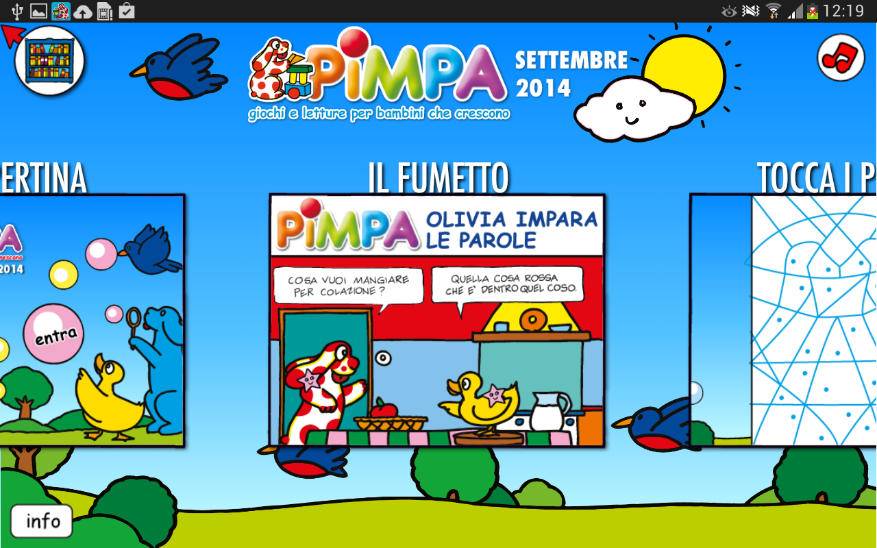 PIMPA- screenshot