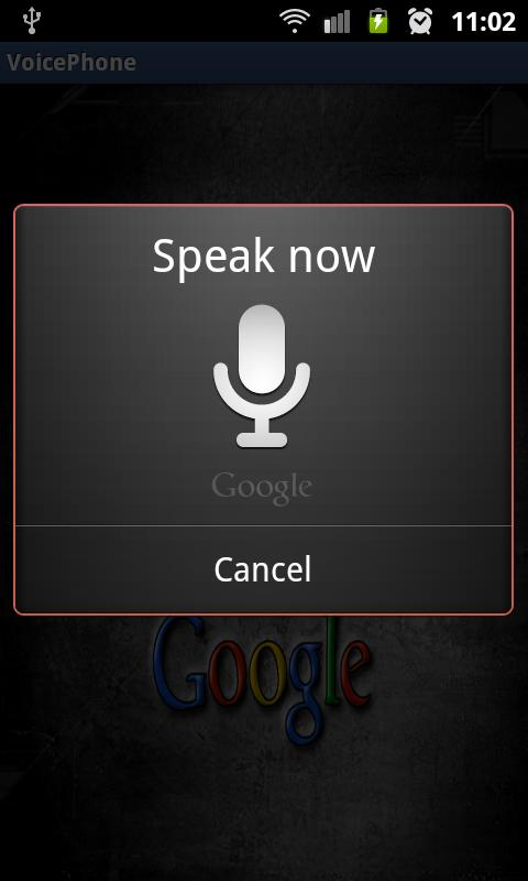 VoicePhone - screenshot