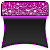 THEME - Purple Glitter Glow
