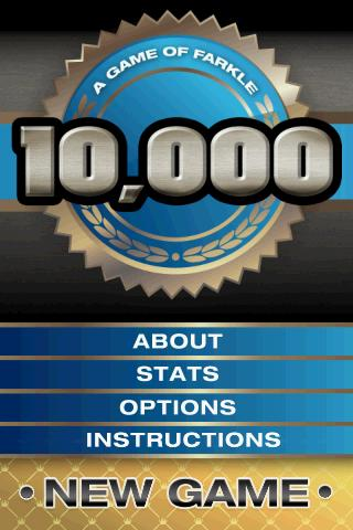 10,000 (A Game of Farkle)- screenshot