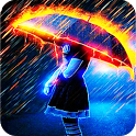 Fire Rain Live Wallpaper icon