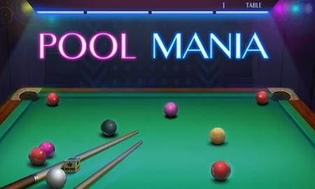Pool Mania Screenshot 1