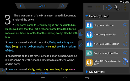 NIV Bible- screenshot thumbnail