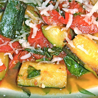 Zucchini and Tomatoes – Quick and Easy