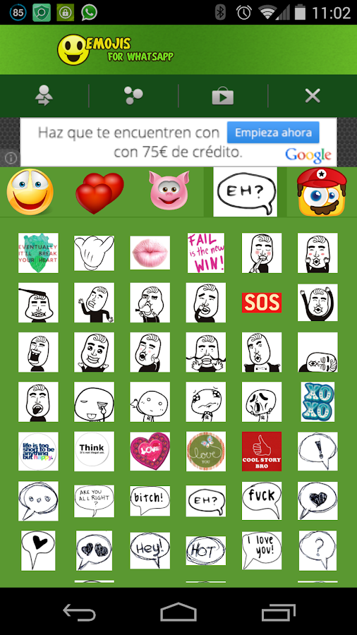 Emoji Emoticons- screenshot