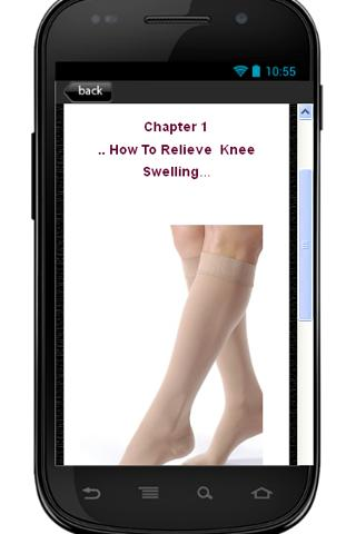 Knee Swelling Relieving Guide - screenshot