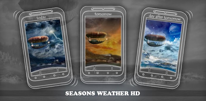 Beautiful seasons weather HD apk
