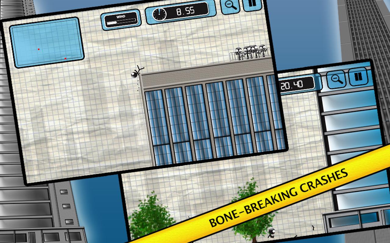 Stickman Base Jumper screenshot #10