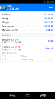 Screenshot of MetaTrader 5