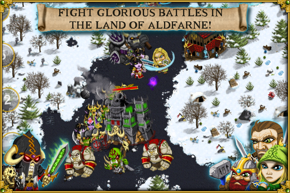 Warlords RTS: Strategy Game screenshot #1