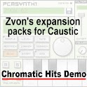 Chromatic Hits demo (Caustic) logo