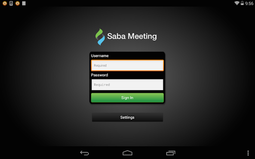 Saba Meeting- screenshot thumbnail
