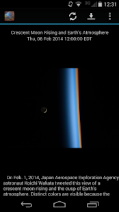 NASA Daily Image - screenshot thumbnail