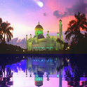 Mosque and Lake Live Wallpaper icon