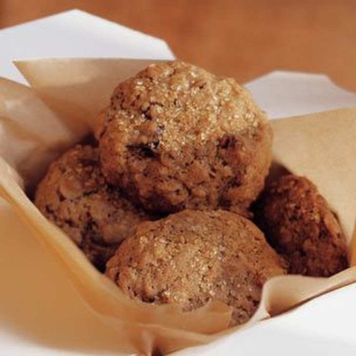 Oatmeal, Date and Walnut Spice Cookies Recipe