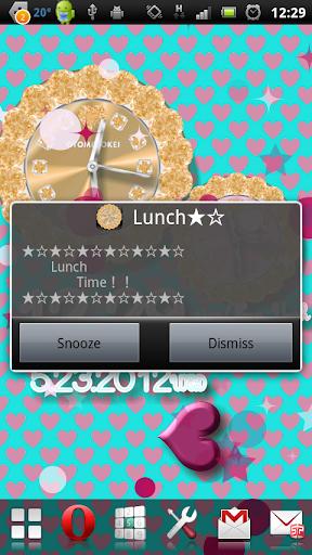 玩個人化App|報警世界QLOCK黃金的LWP免費|APP試玩