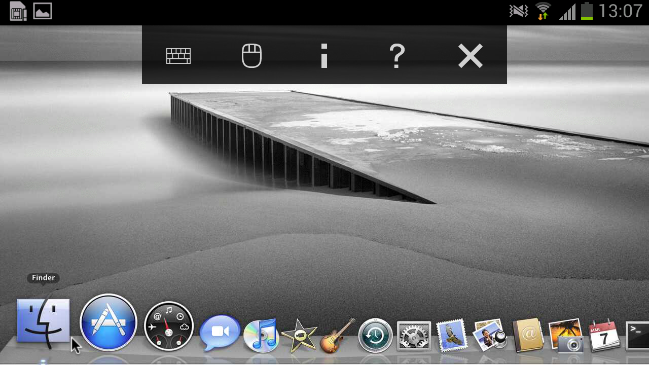 VNC Viewer - screenshot