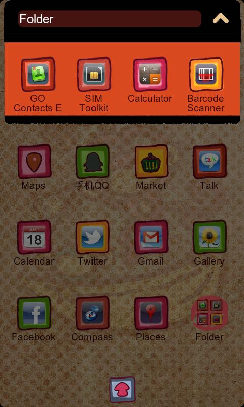 Monkey Z Theme GO Launcher EX - screenshot