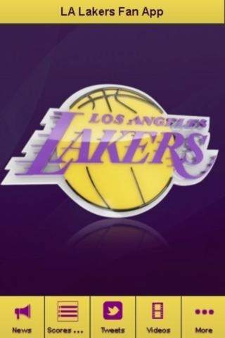 Los Angeles Lakers Fan App - screenshot