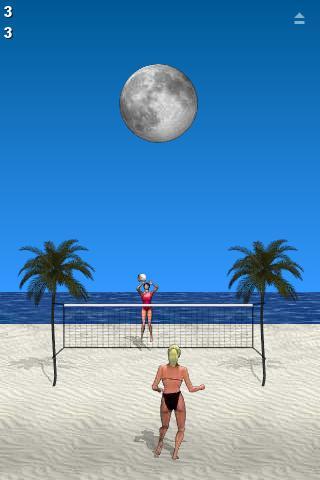 Beach Volleyball Lite- screenshot