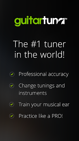 android Accordeur Guitares -GuitarTuna Screenshot 13