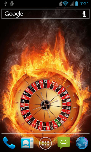 Fiery roulette LWP