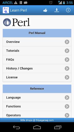 Perl Documentation Learn Perl