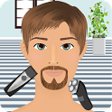 beard salon games icon