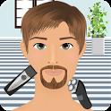 beard salon games icon