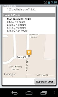 Parkopedia Parking - screenshot thumbnail