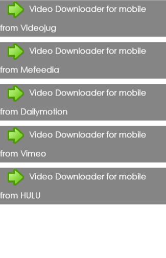 Video Downloader for mobile