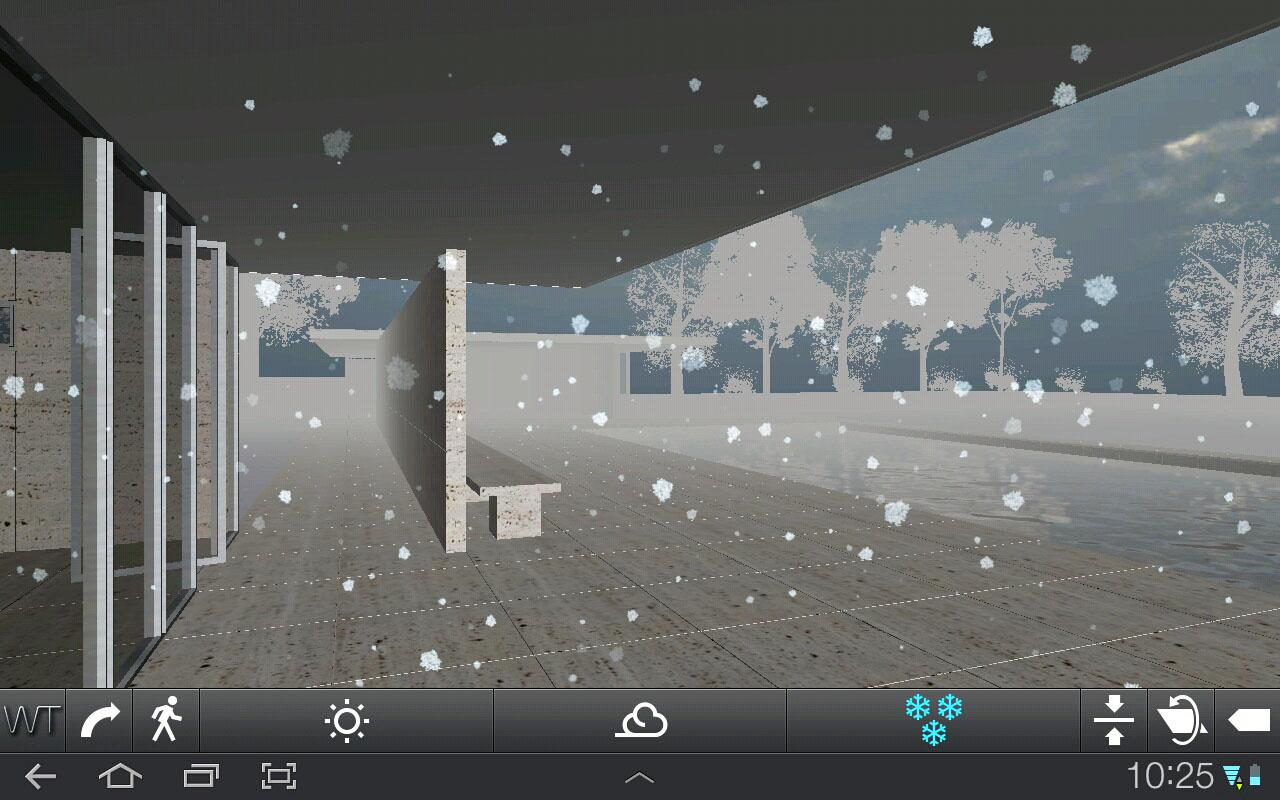 Architecture WT Mies Pavilion- screenshot