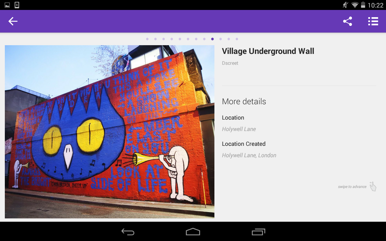 Street Art London- screenshot