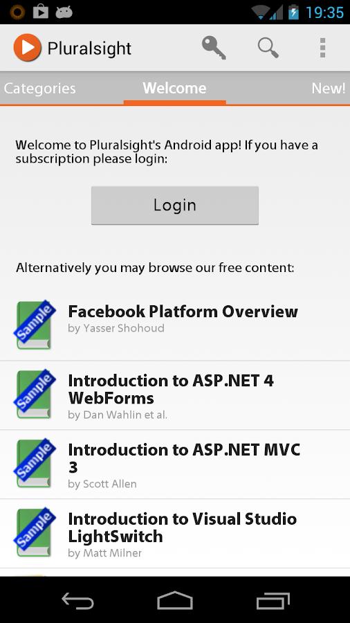 Pluralsight- screenshot