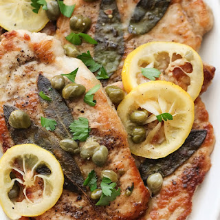 30 Minute Pork Scallopini With Lemons and Capers.