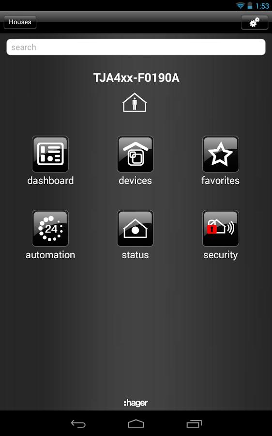 domovea tablet apk by hager controls sas details. Black Bedroom Furniture Sets. Home Design Ideas