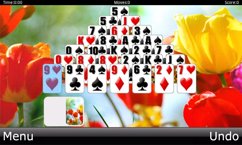 Solitaire HD - screenshot
