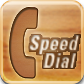 Speed Dial Wood Widget