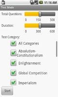 Screenshot of CLEP Western Civ II Exam Prep