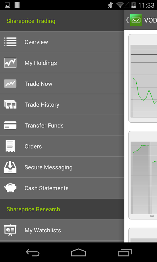 SharePrice- screenshot