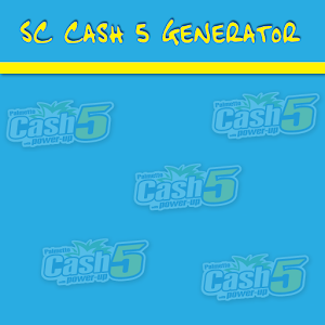 SC Cash 5 Lottery Generator