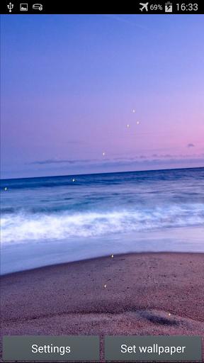 無料个人化Appの海アニメーション壁紙|記事Game