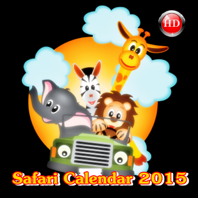 Safari Calendar 2015
