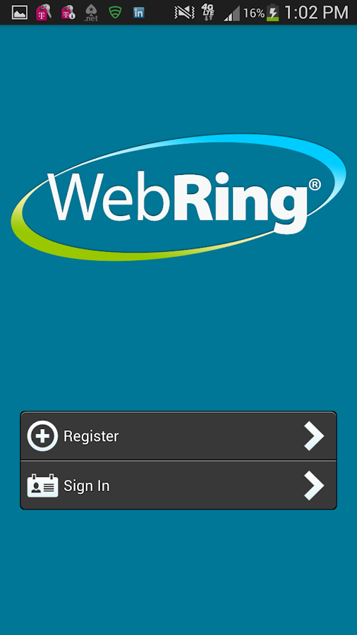 WebRing- screenshot