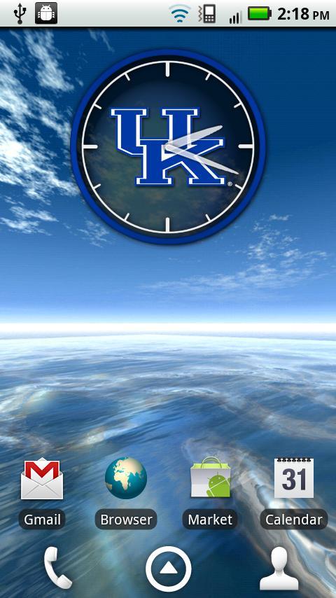 Kentucky Wildcats Clock Widget - Android Apps on Google Play