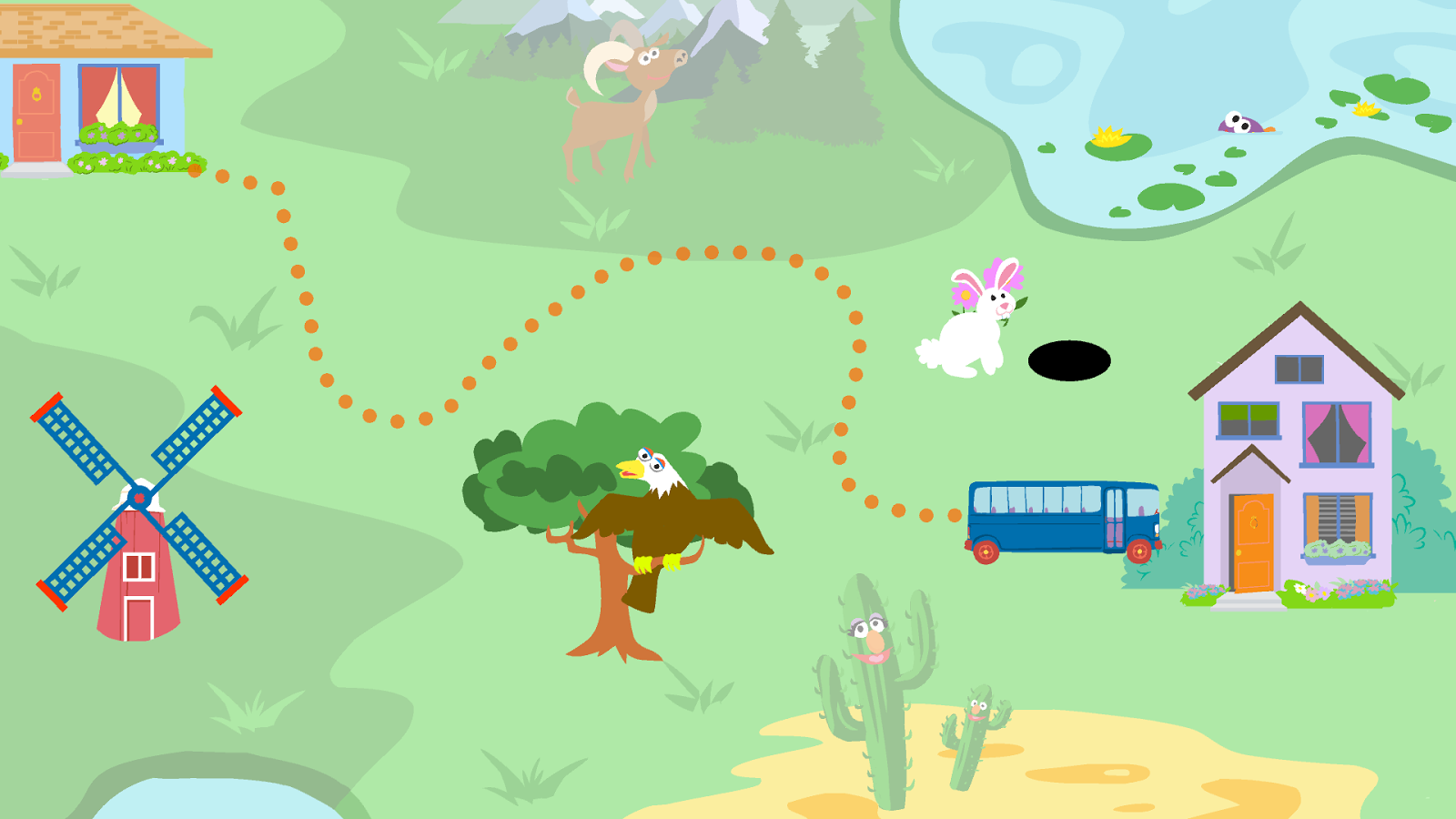 The Big Moving Adventure - screenshot