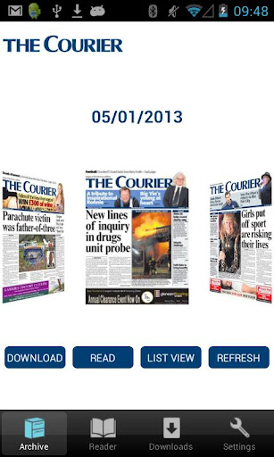The Courier Angus Edition