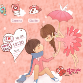 CUKI Theme Romantic couple